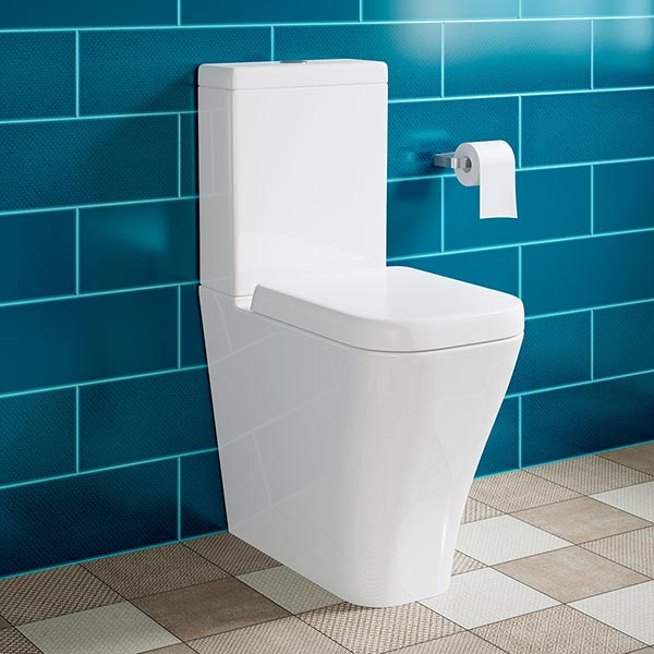 BRANT FULLY ENCLOSED TOILET & SOFT CLOSE SEAT