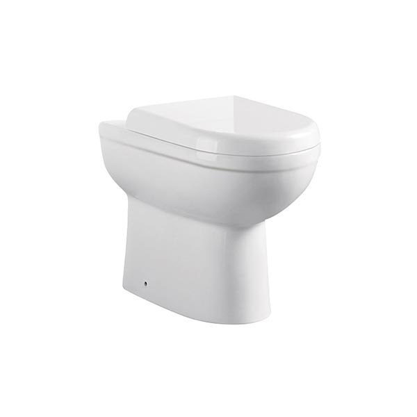 REFINE BACK TO WALL TOILET PAN & SLIM SOFT CLOSE SEAT